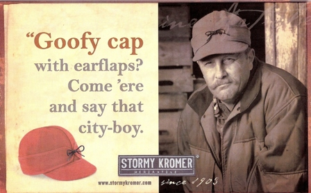 864d3f83ccea8 A doff of the cap to you Stormy Kromer!