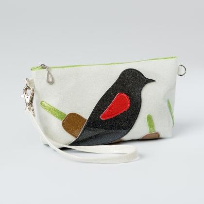 blackbird wristlet