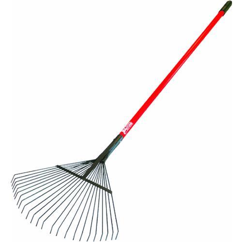 metal leaf rake