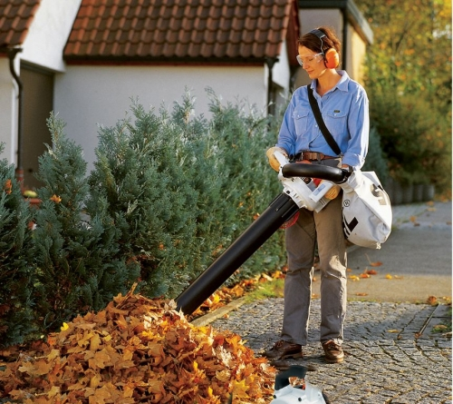 stihl shredder vac