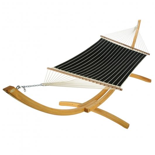 hatteras quilted-hammock-classic-black-stripe-x