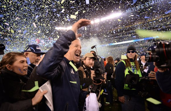 SUPER BOWL XLVIII DENVER BRONCOS VS. SEATTLE SEAHAWKS