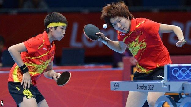 Ping Pong In China