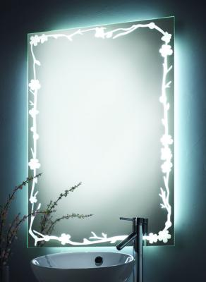 seura lighted border mirror
