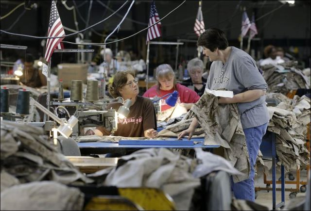 Apparel-workers-sew-military-uniforms-at-American-Power-Source