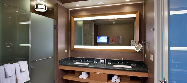 Celebration-Lighted-Mirror-TV-with-Makeup-Mirror-wall-mount