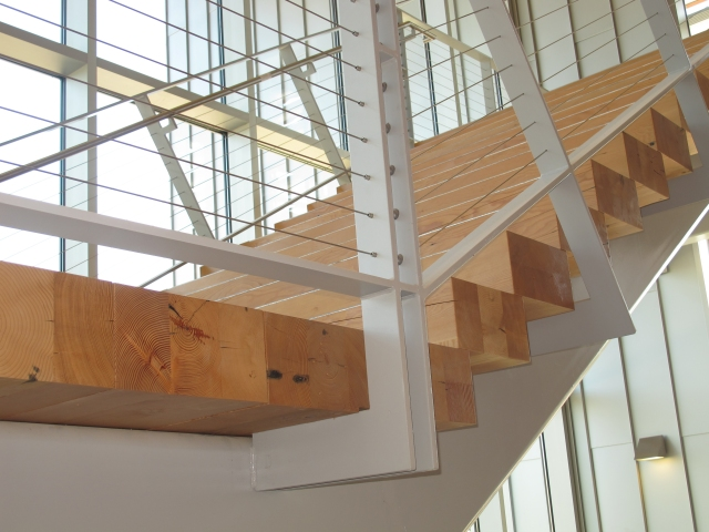 Douglas fir Stairs_CPTC project_3