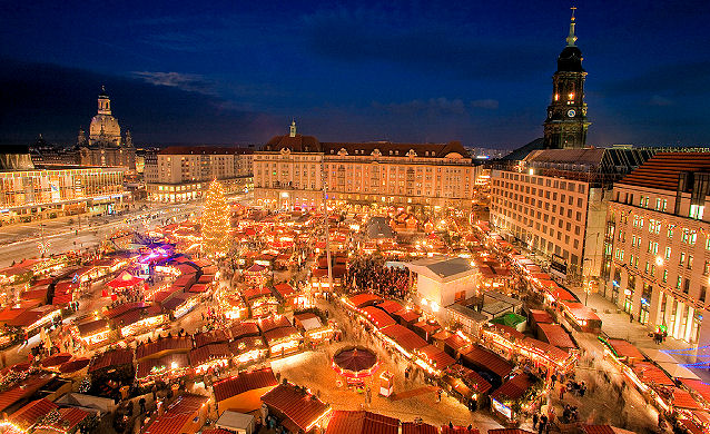 Germany Christmas Markets - Dresden via GCM-ORG-UK